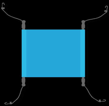 fixation pour baches banderoles