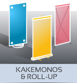 imprimeur kakemonos & roll-up Galluis