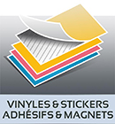 impression adhesifs & stickers Sausset-les-Pins