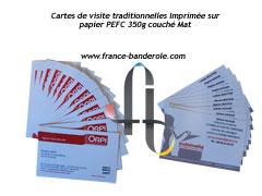 cartes de visite à Vitrolles Aix en Provence Marseille pas cher