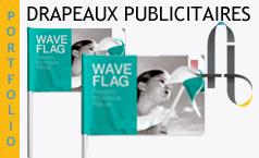 Oriflammes – BeachFlag – Oriflamme pas cher – WindFlag – Drapeau personnalisé manifestation
