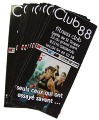 flyer prospectus tract publicitaires