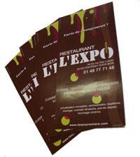 flyer publicitaire imprimé