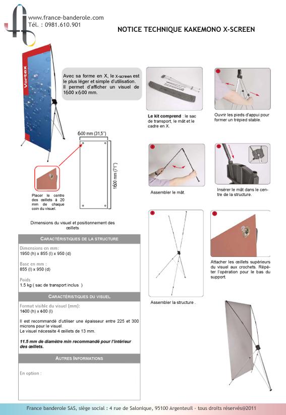 acheter kakemono roll up imprim chez france banderole france banderole. Black Bedroom Furniture Sets. Home Design Ideas