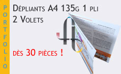 Dépliants – depliants pas cher – depliants publicitaires – imprimer des dépliants – prix dépliants