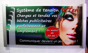 systeme tension banderole pas cher