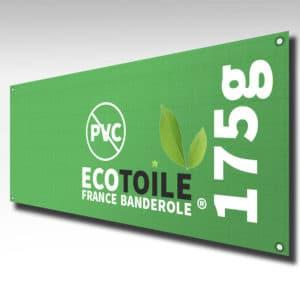 ecotoile bache écologique sans pvc
