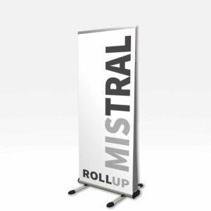 rollup mistral le roll-up extérieur résistant au vent