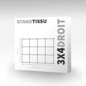 stand tissu easy quick droit