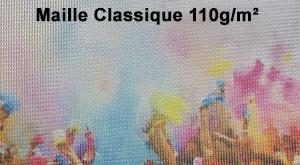 Drapeaux Oriflamme Maille classique 110g France Banderole