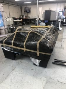 une table de billard ? un braséro ? une table de découpe F1612 ?