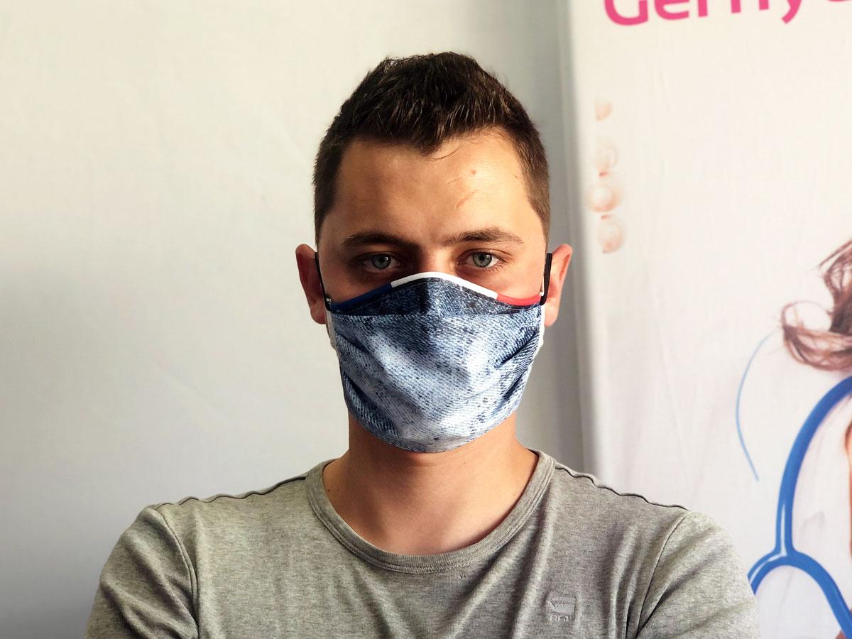 masque en tissu classe réutilisable lavable en machine