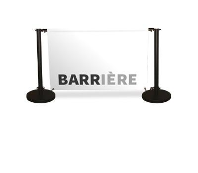 Barrière délimitation 100cm