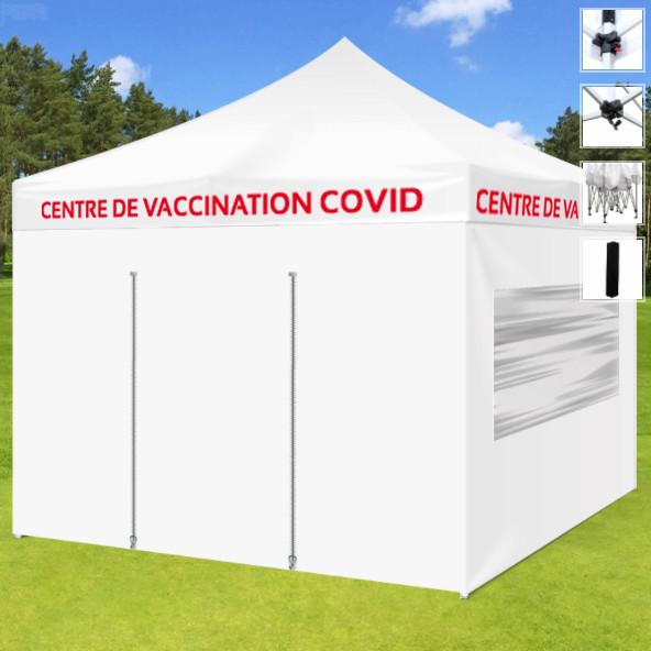 Tente Centre de vaccination Covid-19 3x3m