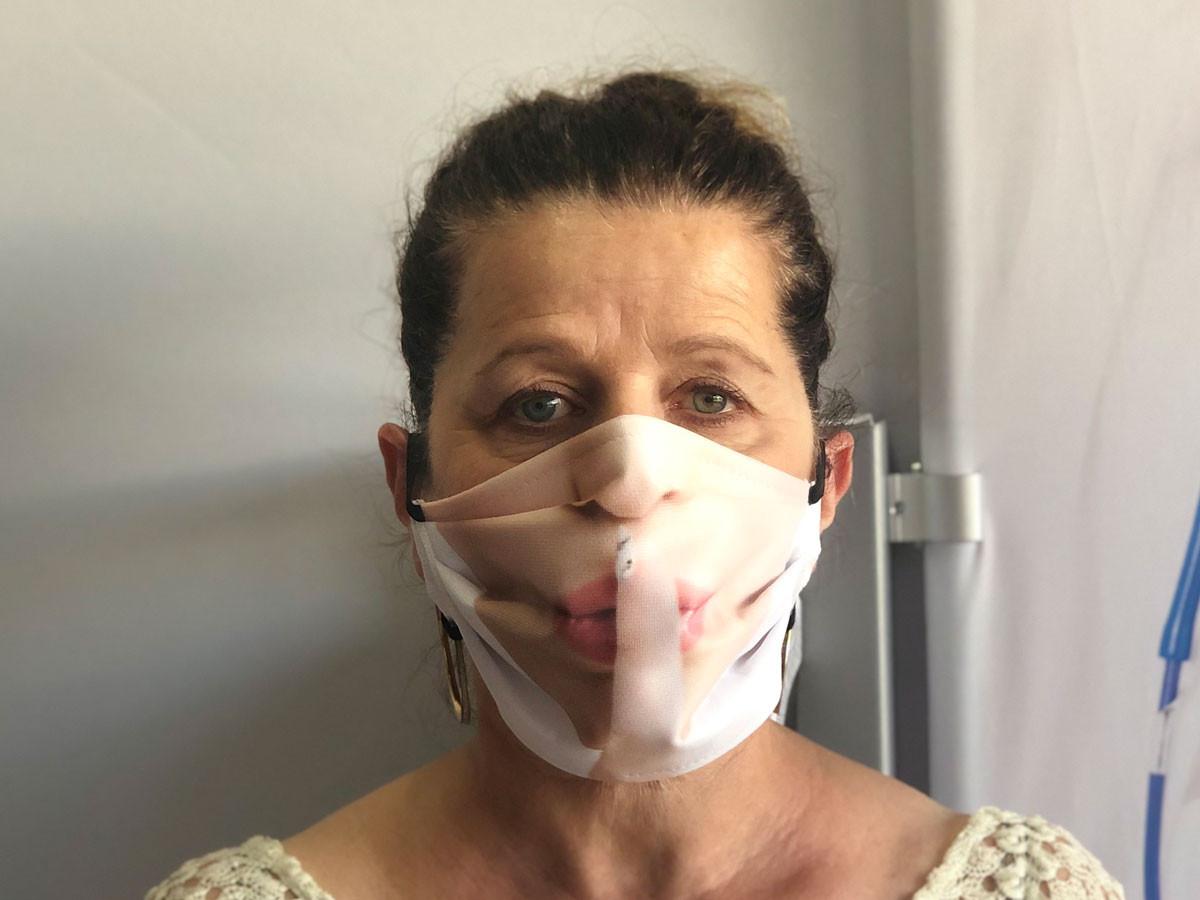 Masque barrière Femme Chuut!