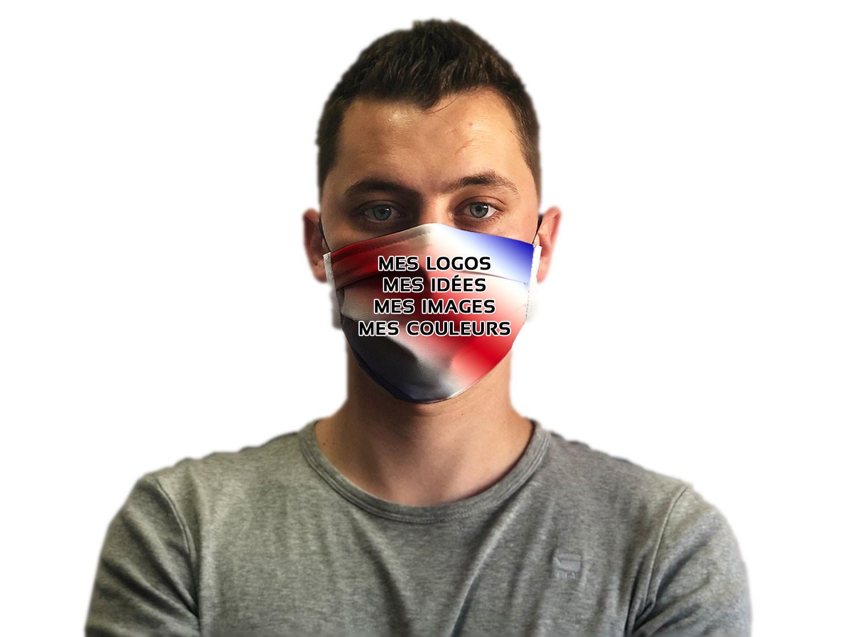 Masque barrière personnalisable