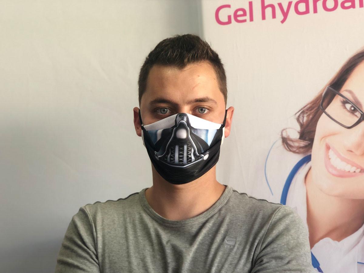 Masque barrière Dark Vador